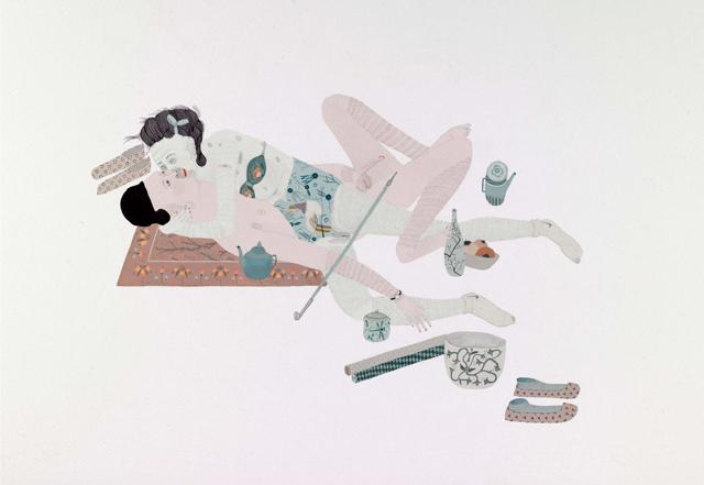 Kushana Bush, Hungry Ghost with Dragonfly Jar