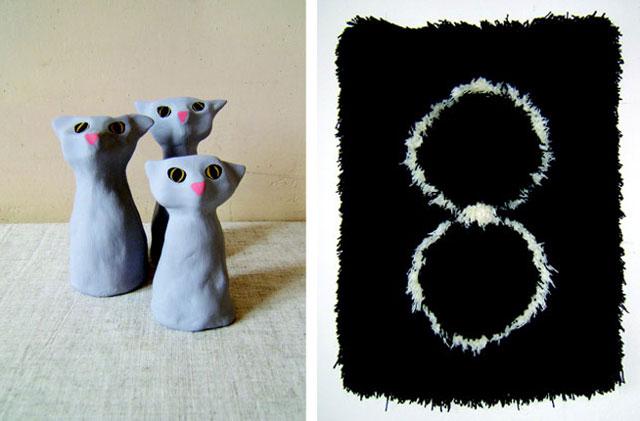 Three Cats, 2012. Figure 8 Rug