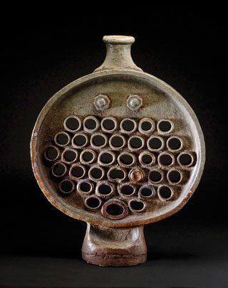 stoneware boiler front tube-plate