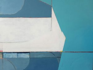 Katherine Simpson, Untitled, oil on board, 440 x 530mm, from The Summer Exhibition at nkb Gallery, Mt Eden, December 4–24